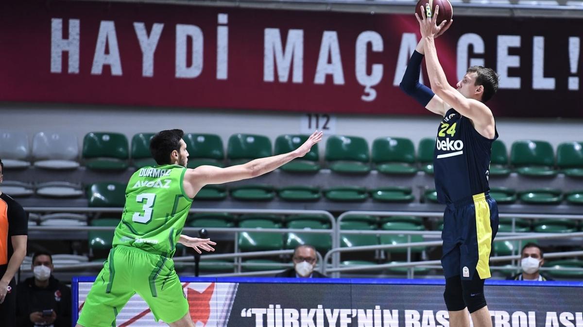 Nefes kesen maçta Fenerbahçe Beko, TOFAŞ'ı 1 sayı farkla devirdi