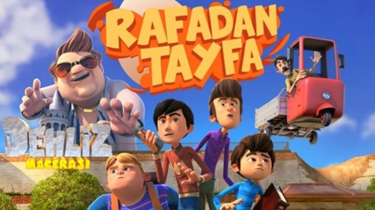 Rafadan Tayfa Dehliz Macerası canlı izleme linki! Rafadan Tayfa Dehliz Macerası TRT Çocuk'ta!