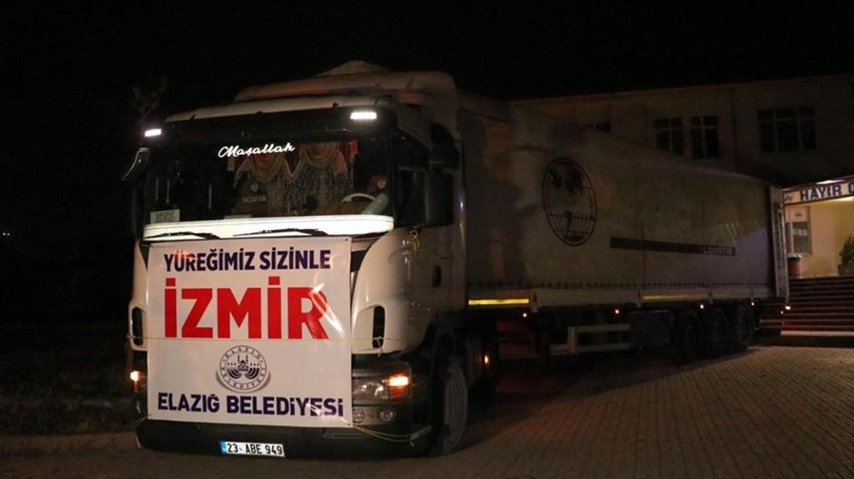 Türkiye İzmir için tek yürek... Yardımlar ve ekipler hemen yola çıktı
