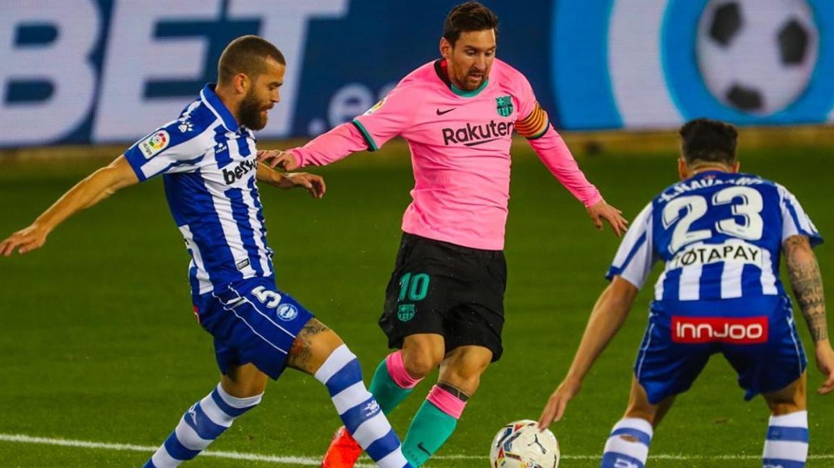 Barcelona ligde galibiyete hasret kaldı