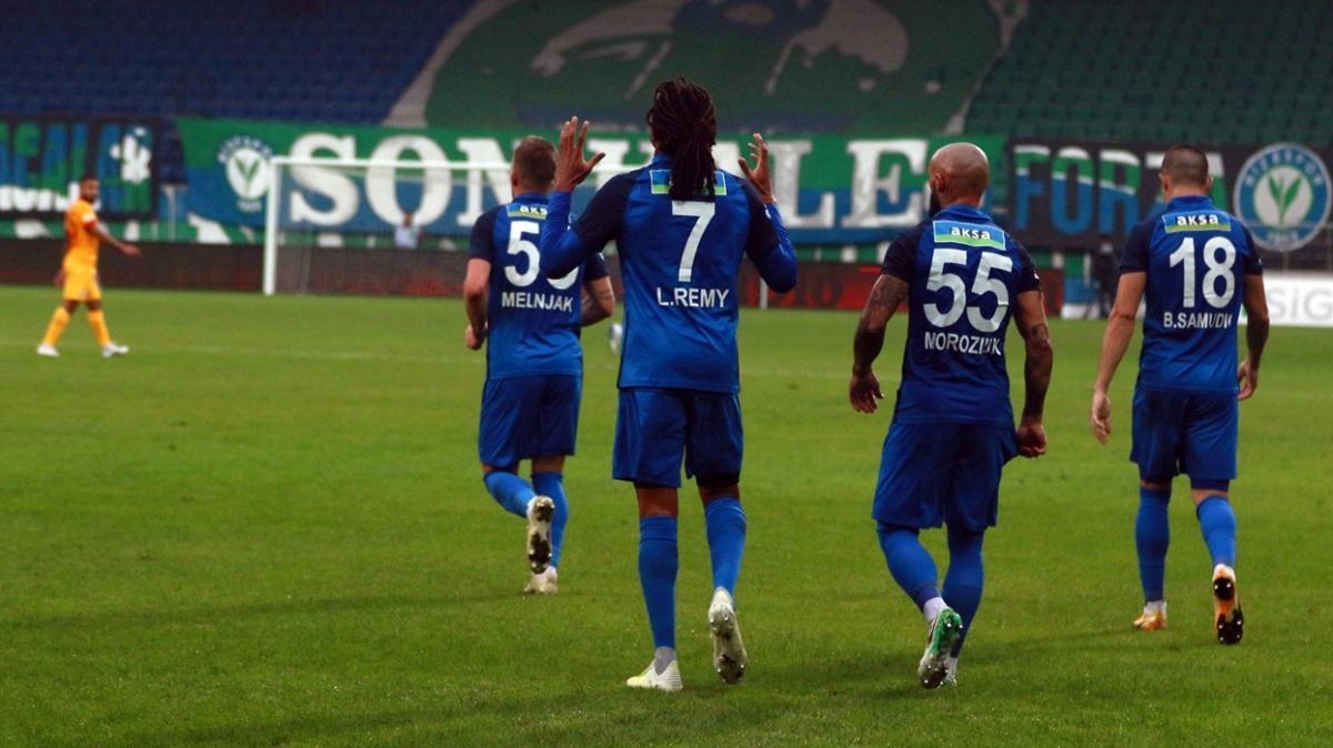 Çaykur Rizespor sahasında Kayserispor'u 1-0 mağlup etti