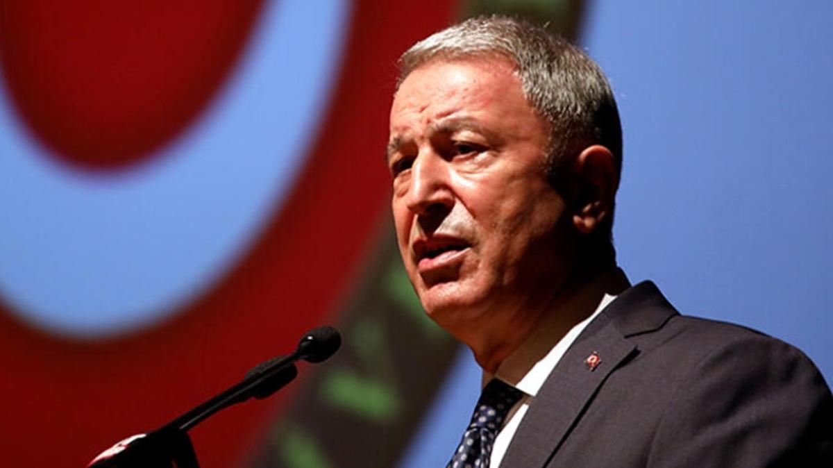 Bakan Akar: Libya'ya tek cevap veren ülke Türkiye oldu