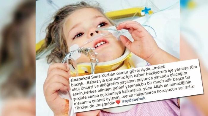 Sinan Akçıl'dan 'Ayda bebek' açıklaması: Eğitim hayatında yanındayım