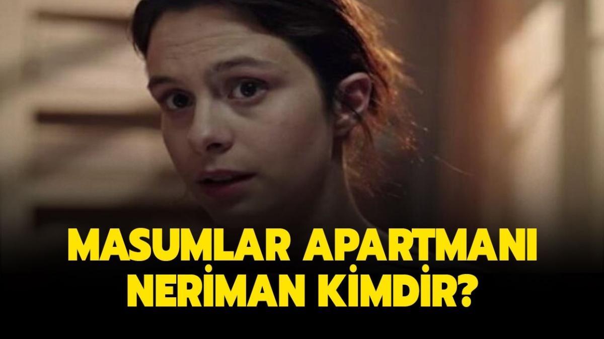 """Masumlar Apartmanı Neriman kimdir"""" Masumlar Apartmanı'nın Neriman'ı Gizem Katmer kimdir, kaç yaşında"""""""