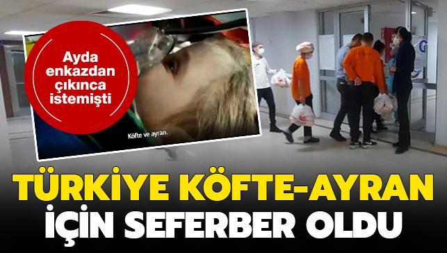 Türkiye Ayda'ya köfte yedirmek için seferber oldu! Restoranların telefonu kilitlendi