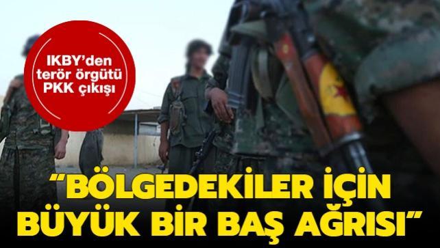 IKBY'den terör örgütü PKK çıkışı: Bölgedekiler için büyük bir baş ağrısı