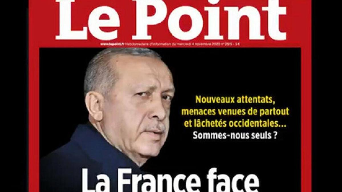 Türkiye düşmanı Fransız dergisi yine Başkan Erdoğan'ı hedef aldı