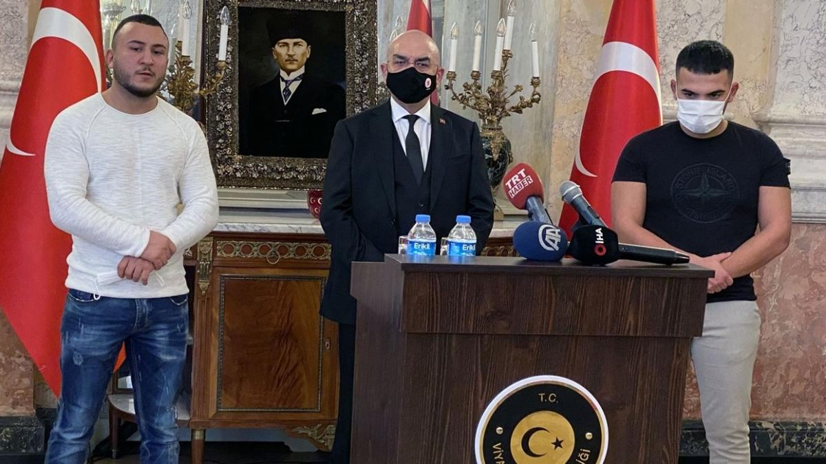 Viyana'daki 2 Türk kahraman uluslararası basında geniş yer buldu