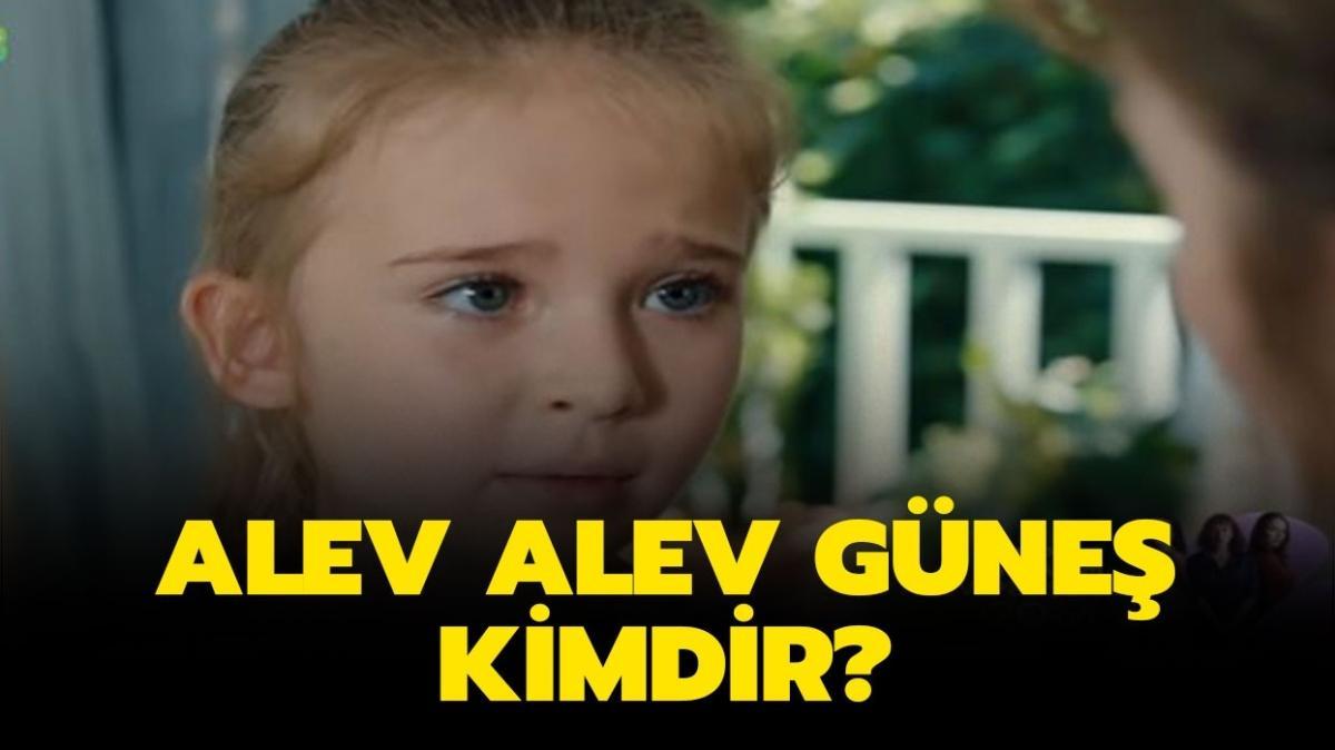 """Alev Alev Güneş kimdir"""" Alev Alev Cemre'nin kızı Güneş kaç yaşında, gerçek adı ne"""""""