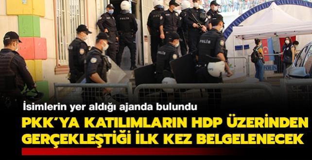 Kaçırılan çocukların isimlerinin yer aldığı ajanda bulundu: PKK'ya katılımların HDP üzerinden gerçekleştiği ilk kez belgelenecek