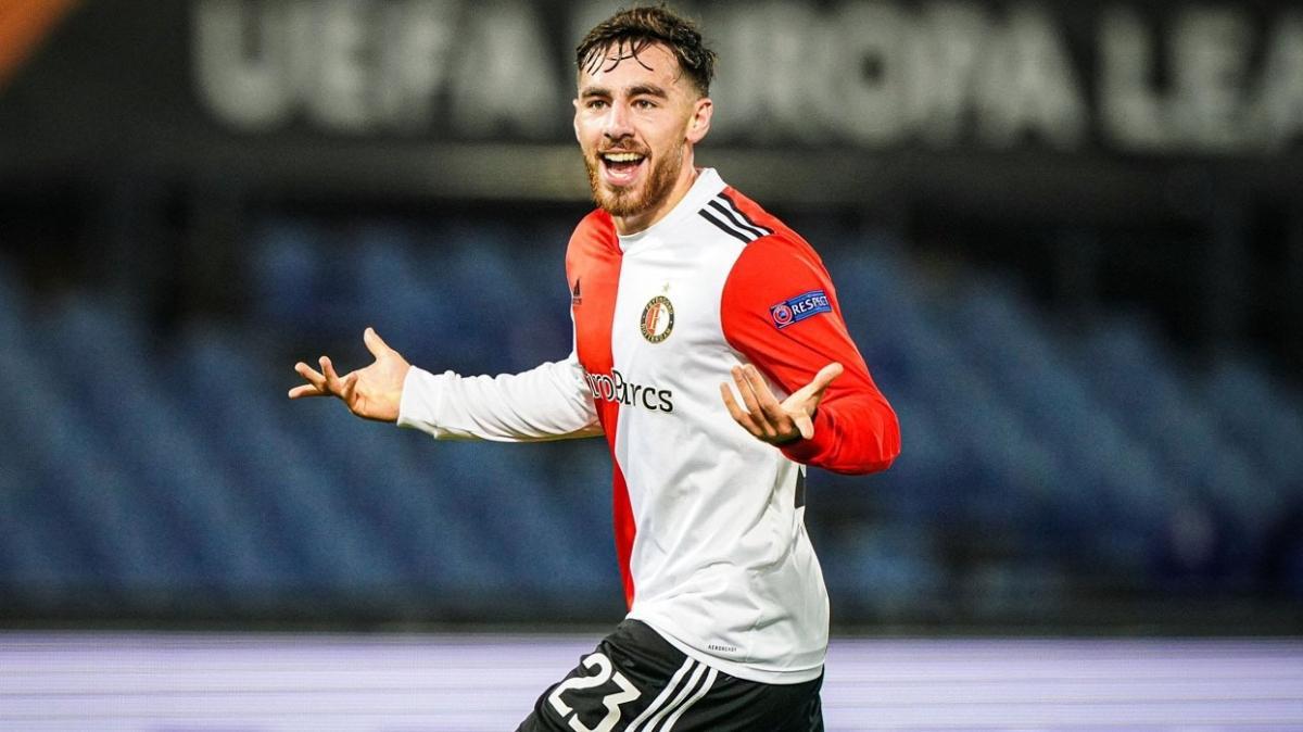Orkun Kökçü ilk golünü attı, Feyenoord rahat kazandı