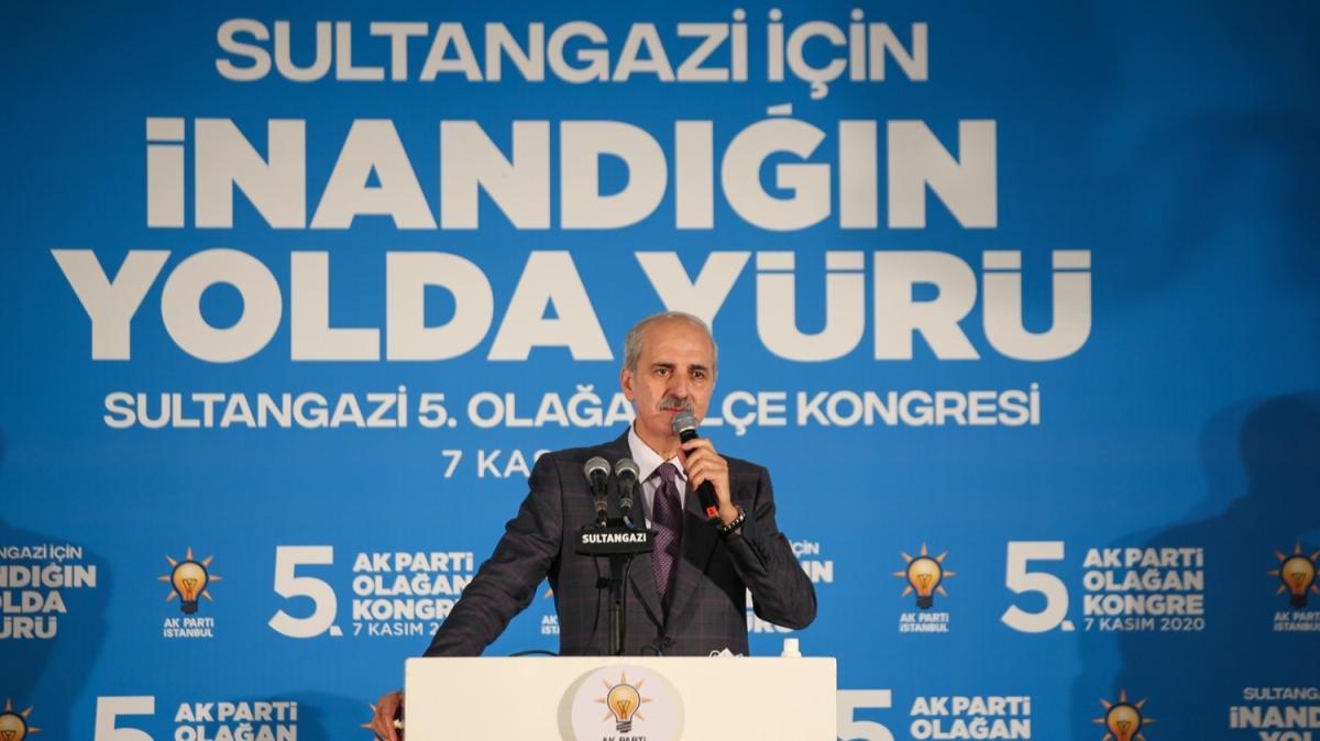 AK Parti Genel Başkanvekili Numan Kurtulmuş: Her türlü imkanla Türkiye'yi durdurmak istiyorlar