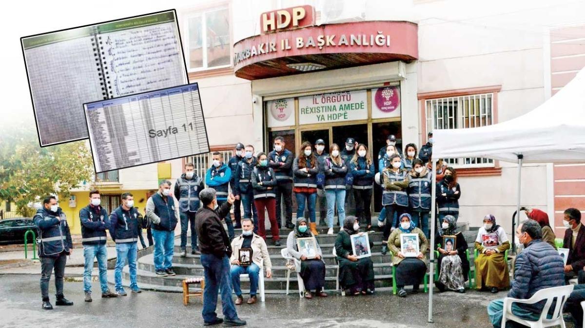 HDP'de PKK ajandası... Kaçırılan çocukların isimleri var
