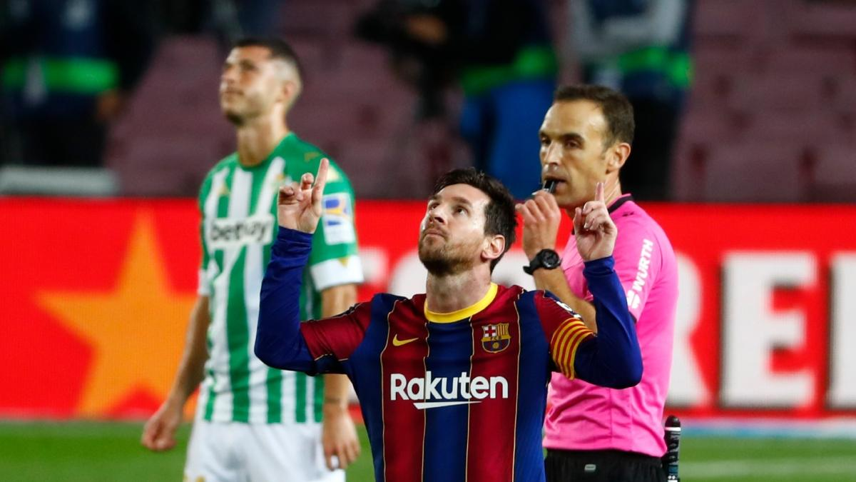 Messi'ye 45 dakika yetti: 5-2