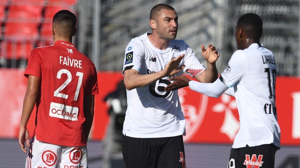 Burak Yılmaz'ın 2 golü Lille'e yetmedi
