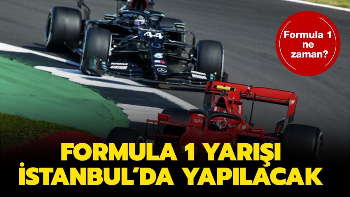 """Formula 1 İstanbul ne zaman"""" Formula 1 bilet satışı yapılacak mı, seyirci olacak mı"""""""