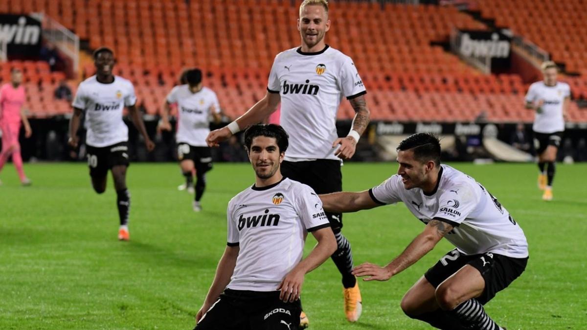 Valencia'dan Real Madrid'e karşı 4 gollü galibiyet
