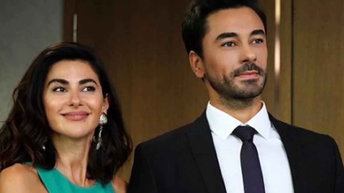 Yasak Elma'nın Şahika'sı Nesrin Cavadzade ile dizinin Kerim'i Gökhan Alkan aşk yaşıyor!