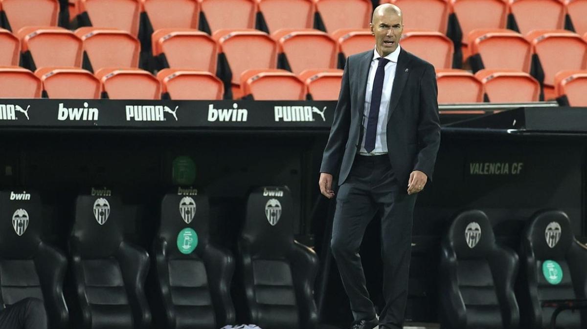 Zidane: 'Çözüm bulamadım, sorumluluk benim'