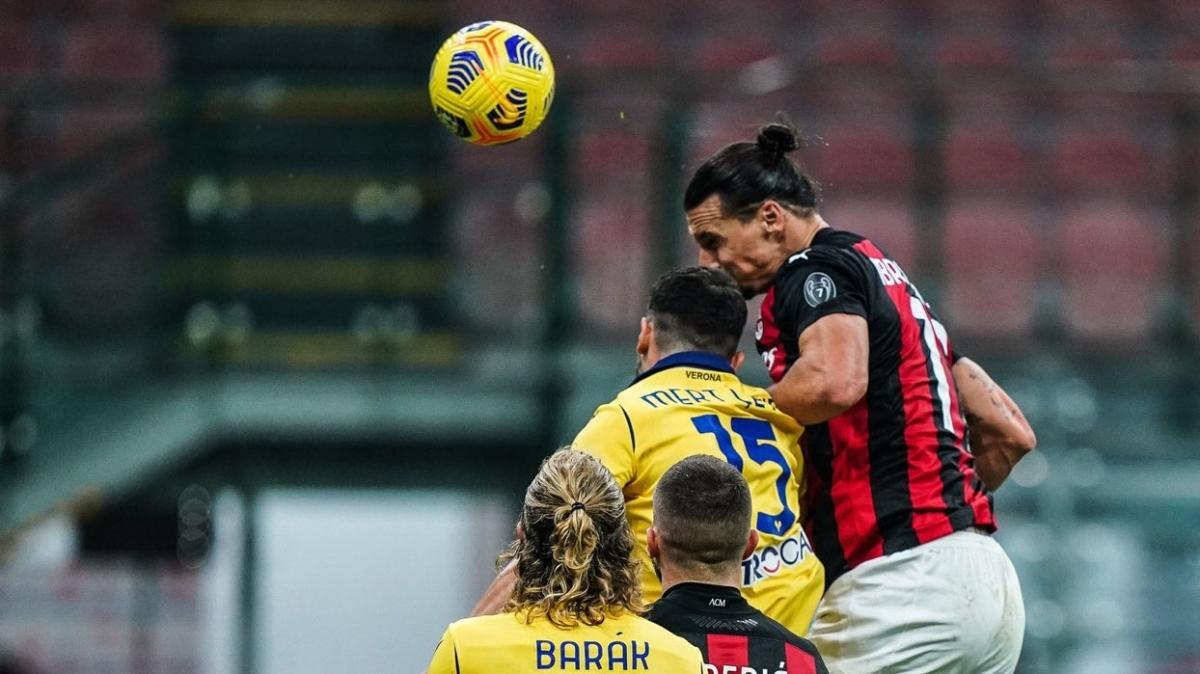Zlatan Ibrahimovic Milan'ı son dakikada kurtardı