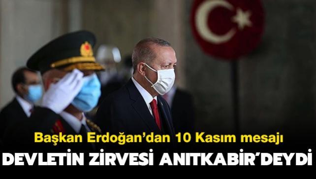 Başkan Erdoğan Anıtkabir'deydi