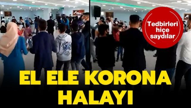 Bursa'da korona halayı: 30 kişiye ceza uygulanacak
