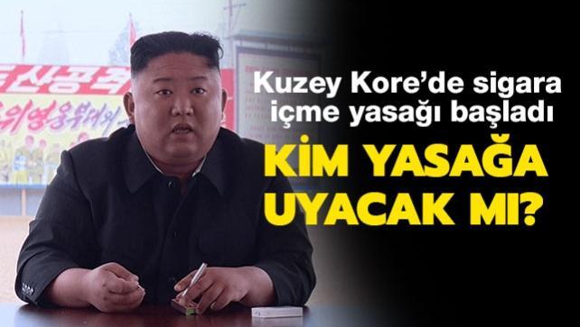 """Kuzey Kore'de kamuda sigara içme yasağı başladı: Kim Jong-un yasağa uyacak mı"""""""