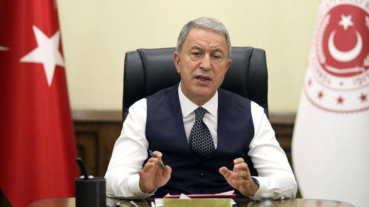 Bakan Akar'dan Azerbaycan'a destek açıklaması: Tek yürek olmaya devam edeceğiz