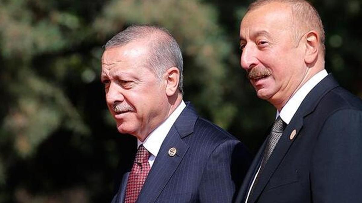 Başkan Erdoğan, Aliyev'i kutladı