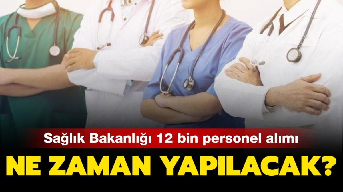 """Sağlık Bakanlığı 12 bin personel alımı ne zaman 2020"""" Sağlık Bakanlığı personel alımı branş dağılımı!"""