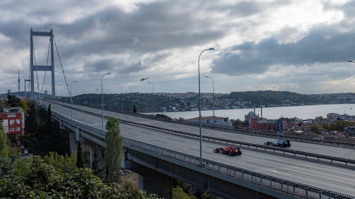 İstanbul'da kıtalararası pit stop