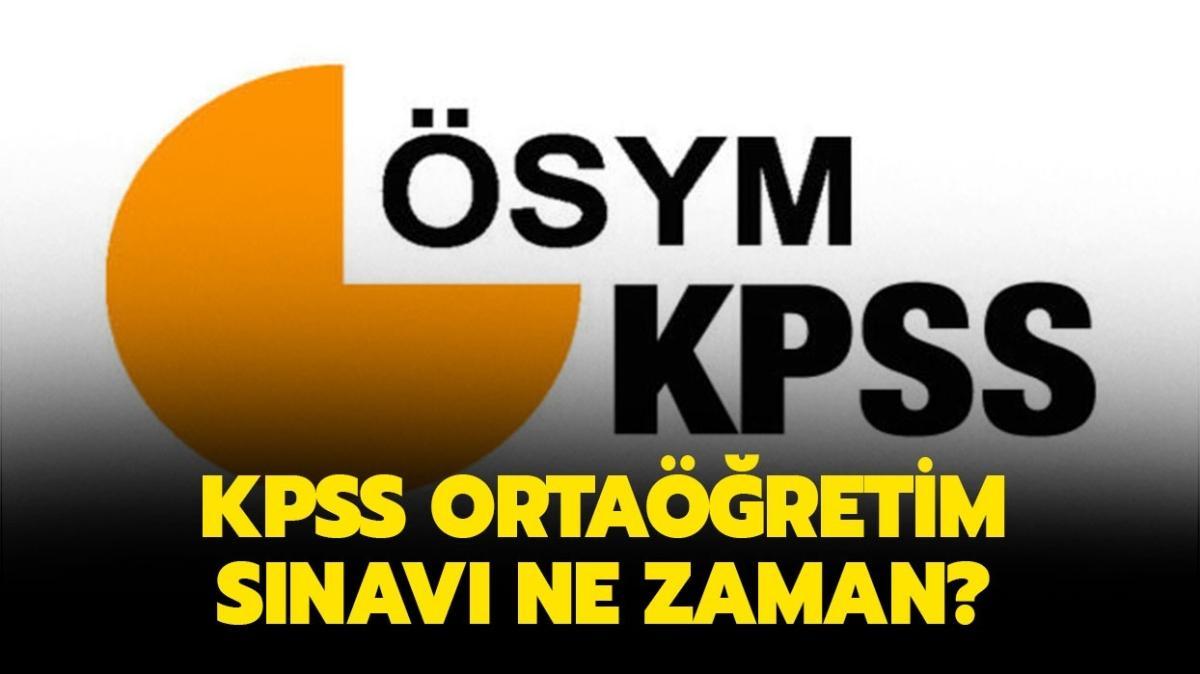 2020 KPSS ortaöğretim sınav yerleri belli oldu! KPSS ortaöğretim giriş belgesi yayınlandı!
