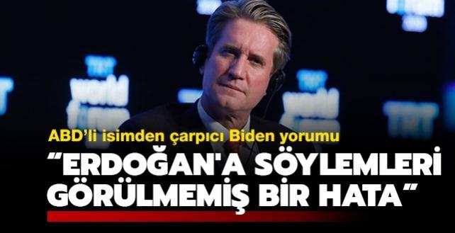 ABD'li diplomat Bryzan'dan Biden yorumu: Erdoğan'a söylemleri görülmemiş bir hata
