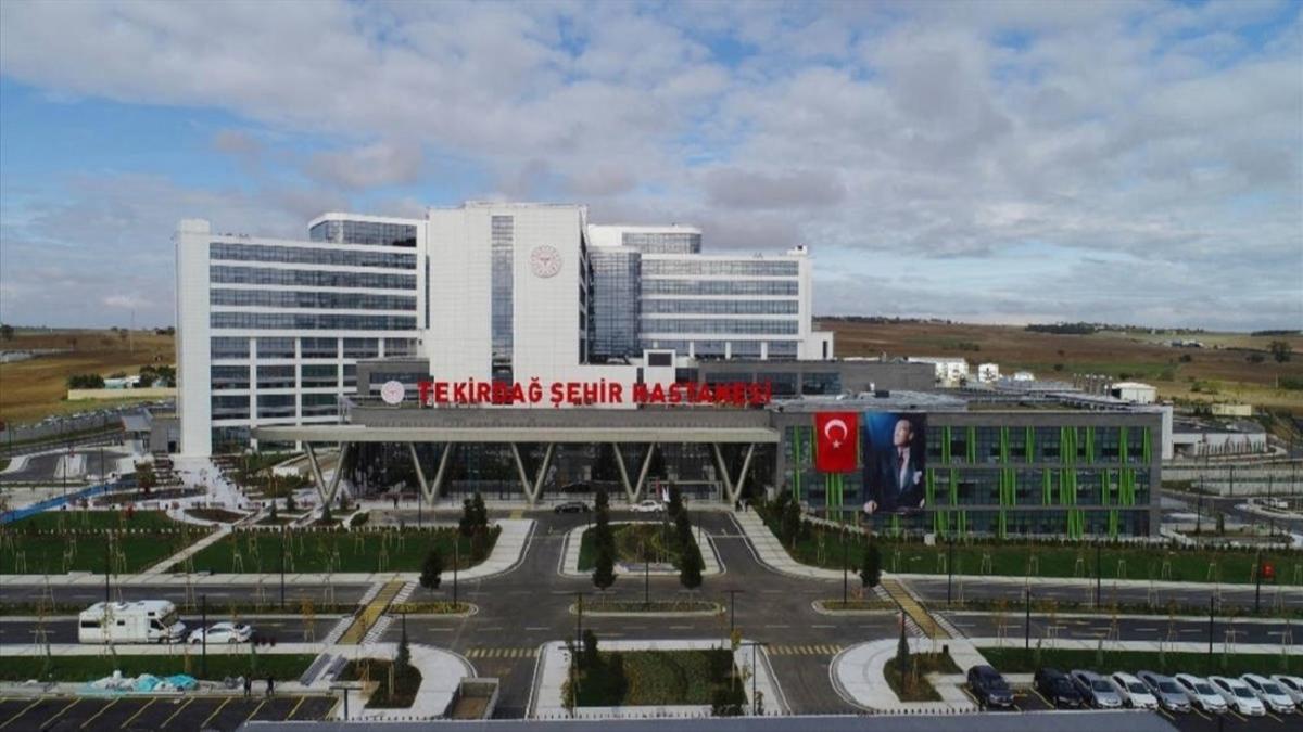 Sağlık Bakanı Fahrettin Koca'dan Tekirdağ Şehir Hastanesi paylaşımı