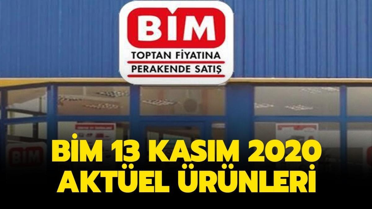 """BİM'e bugün neler geliyor"""" BİM 13 Kasım 2020 aktüel ürünler kataloğu yayınlandı!"""