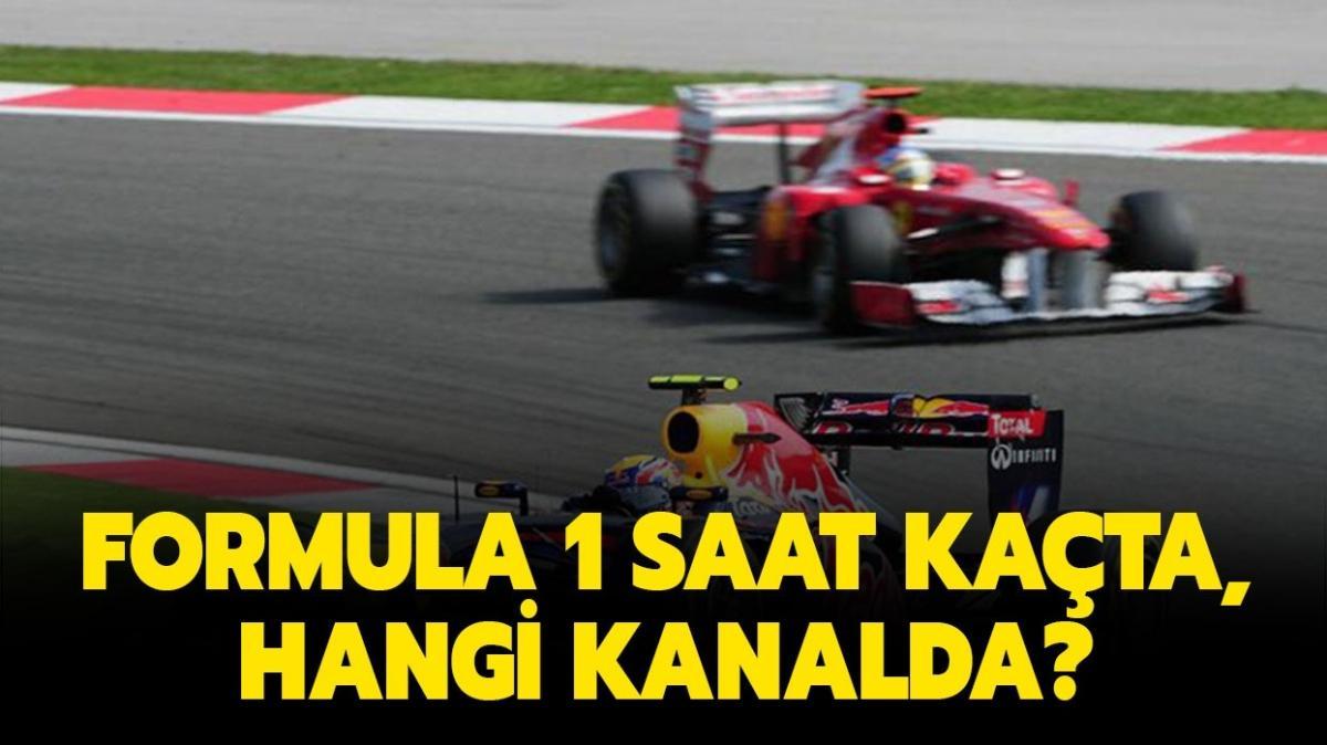 """Formula 1 hangi kanalda, saat kaçta yayınlanacak"""" Formula 1 canlı nereden izlenir, başladı mı"""""""
