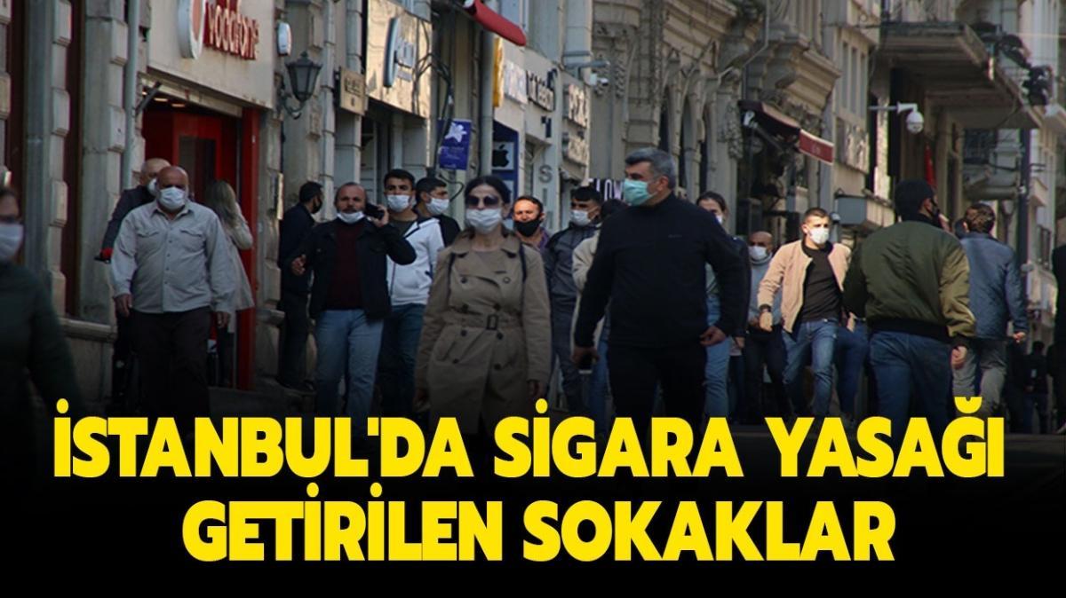 """İstanbul'da sigara yasağı getirilen sokaklar hangileri""""  İstanbul'da sigara içilemeyen sokaklar listesi!"""