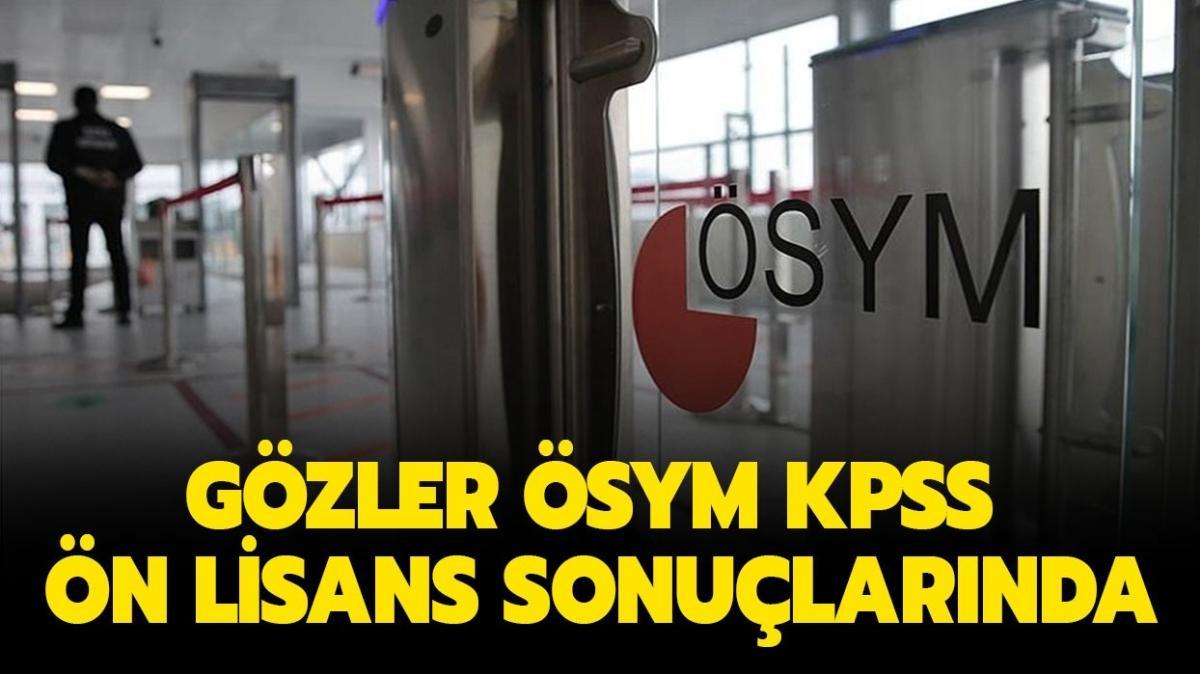 """KPSS önlisans sonuçları açıklandı mı"""""""