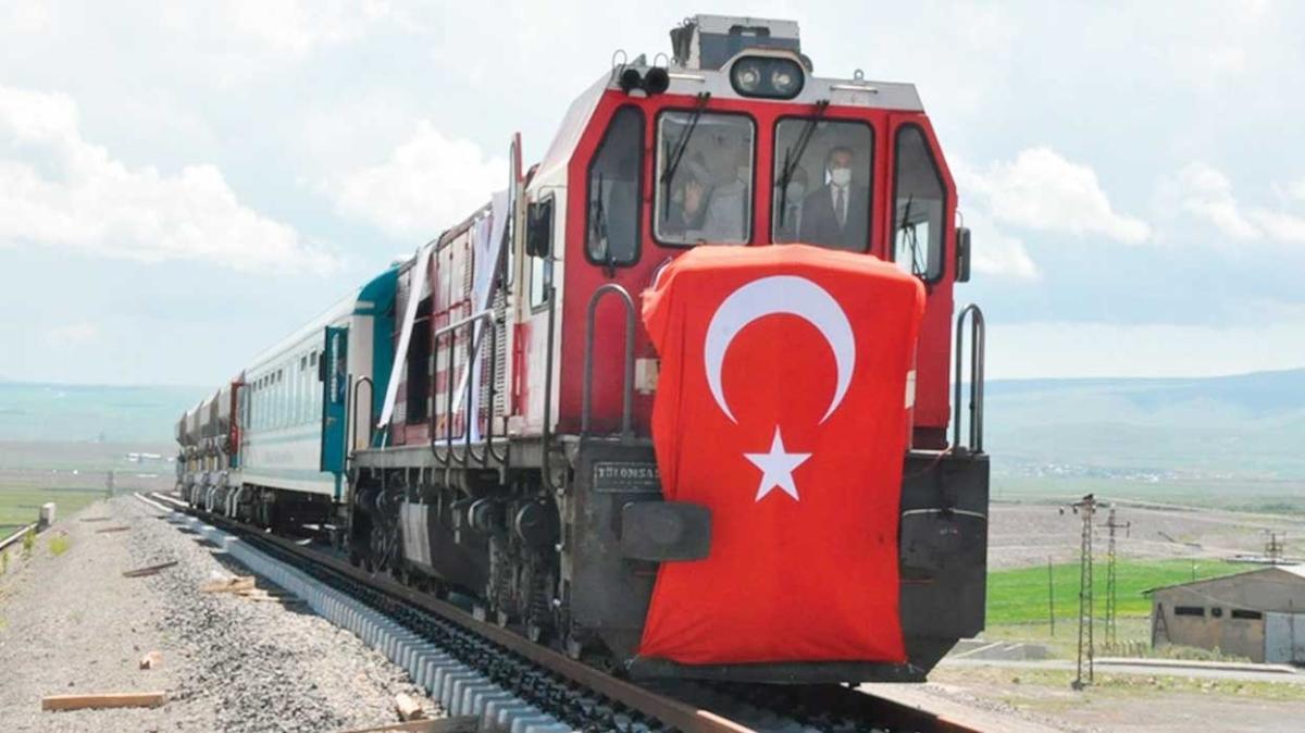 Nahçivan'a demiryolu