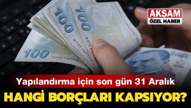 4.5 milyon borçlu için son fırsat 31 Aralık
