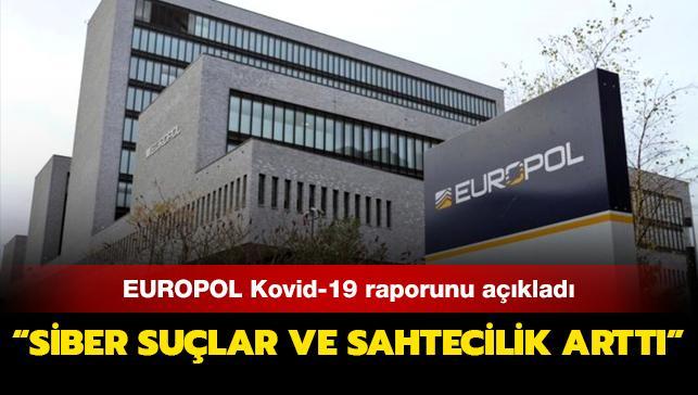 Avrupa Birliği Polis Teşkilatı Kovid-19 raporunu açıkladı: Avrupa'da koronavirüs döneminde siber suçlar ve sahtecilik arttı