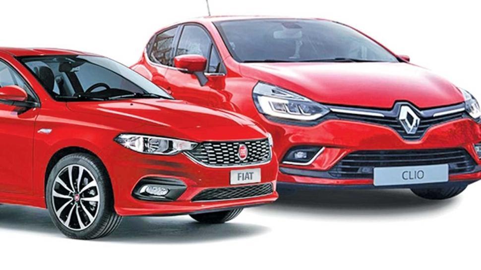 İkinci elde favoriler Renault Clio ve Fiat