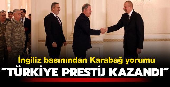 """İngiliz basınından """"Dağlık Karabağ"""" analizi: Rusya'nın gücü azalırken Türkiye'nin prestiji arttı"""