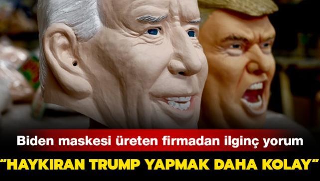 """Joe Biden maskeleri geliyor: """"Haykıran Trump yapmak daha kolay"""""""