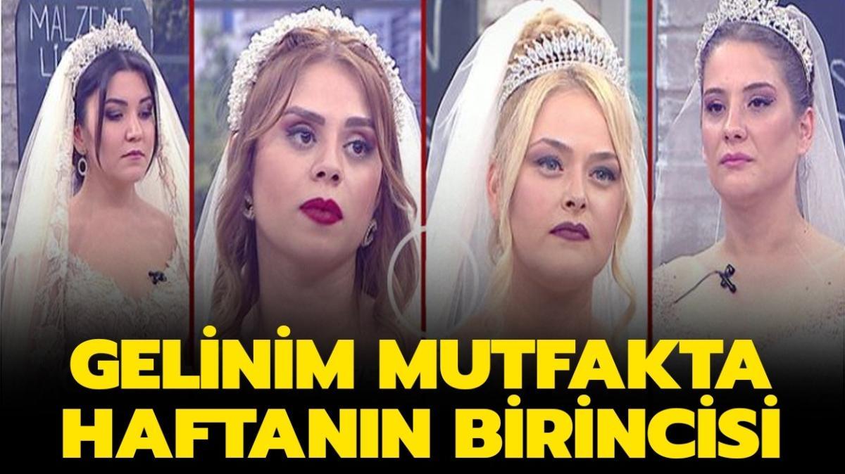 """Gelinim Mutfakta 13 Kasım haftanın birincisi belli oldu! Gelinim Mutfakta bu hafta kim elendi"""""""
