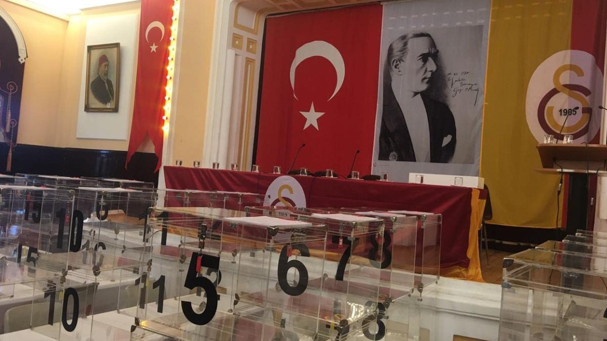 Galatasaray Spor Kulübü'nden seçim açıklaması geldi
