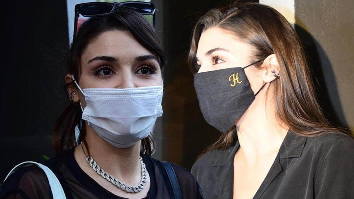 Sen Çal Kapımı'nın Eda'sı Hande Erçel'den 250 TL'lik maske açıklaması