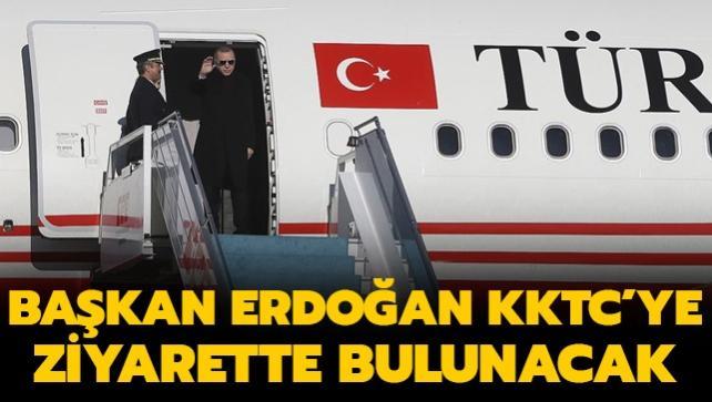 Başkan Erdoğan Kuzey Kıbrıs Türk Cumhuriyeti'ne ziyarette bulunacak