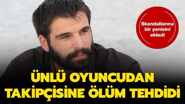 Mehmet Akif Alakurt bunu da yaptı! Takipçisini ölümle tehdit etti