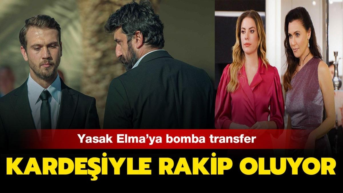 Çukur'un Cumali'si Necip Memili'nin kardeşi Yasak Elma kadrosuna katıldı